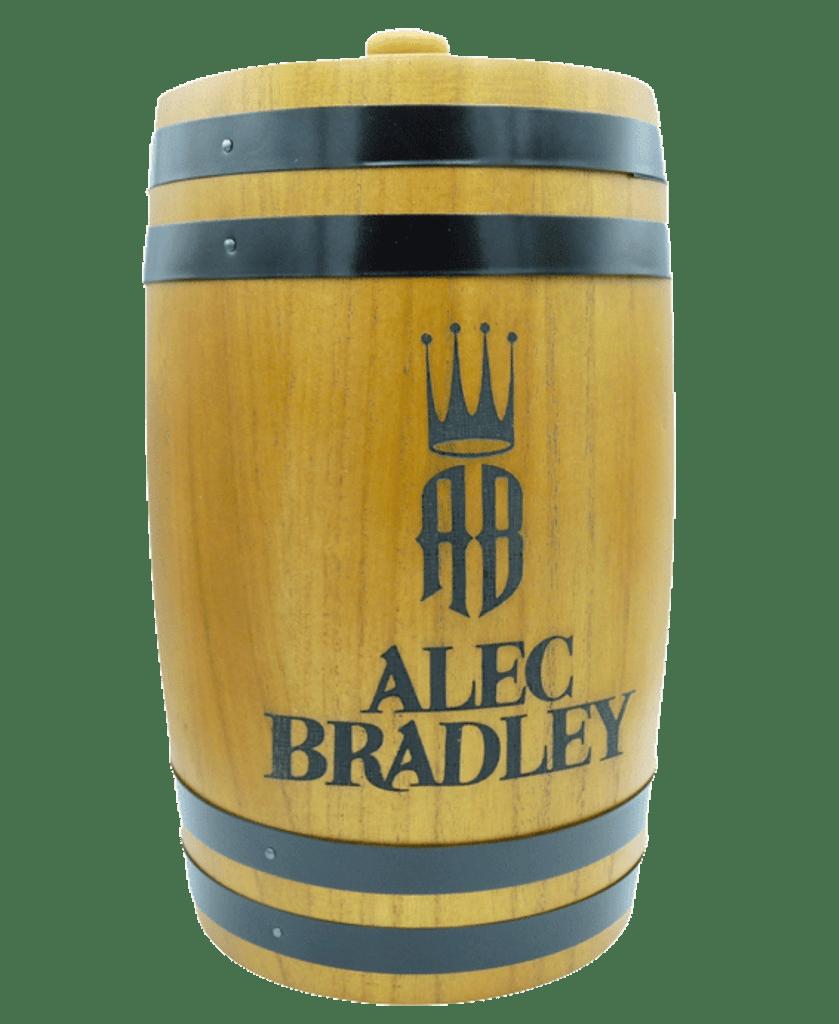 Alec Bradley Firkin Humidor - Light Wood
