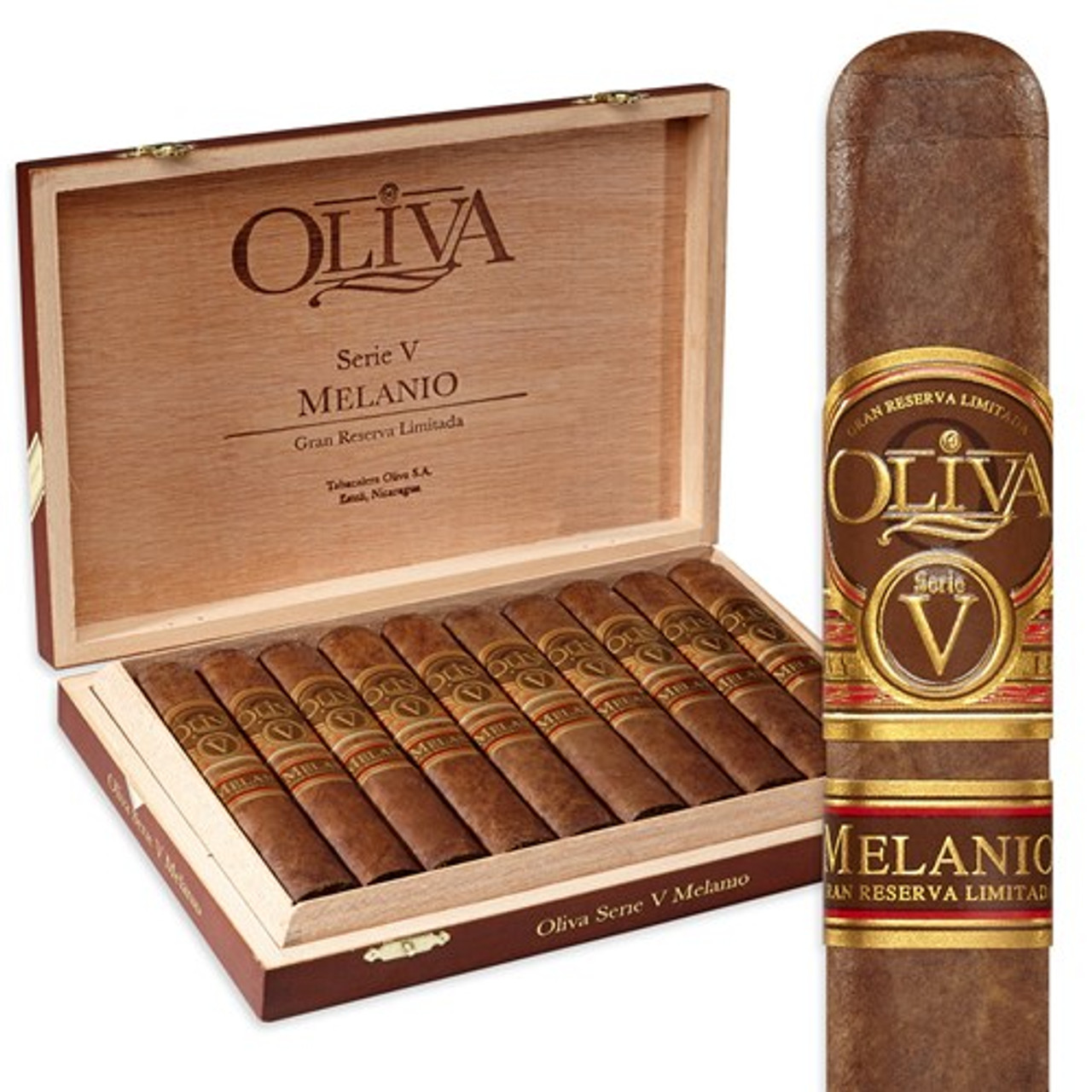 Oliva Serie V Melanio No. 4 Petit Corona