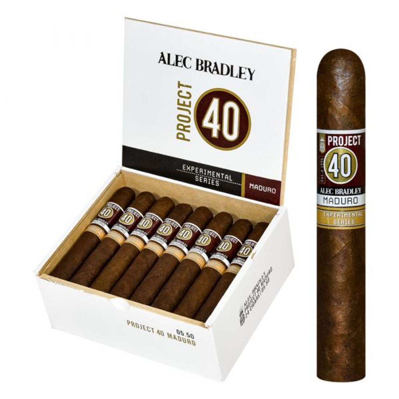 Alec Bradley Project 40 Maduro - Robusto