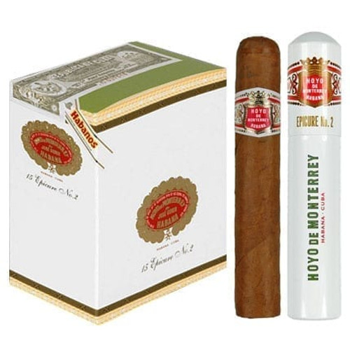 Hoyo de Monterey Epicure No.2 - Box of 15 Aluminium Tube