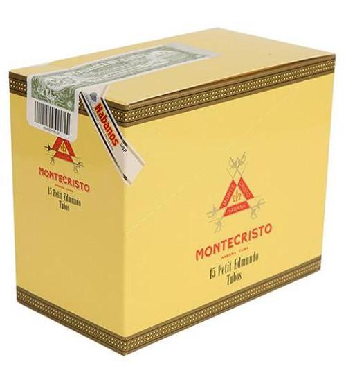 Montecristo Petit Edmundo - Box of 15 (5x3) in Aluminium Tubes