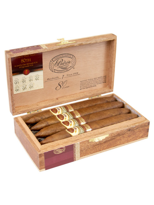 Padron 1926 80th Anniversary Series Natural - Box of 8