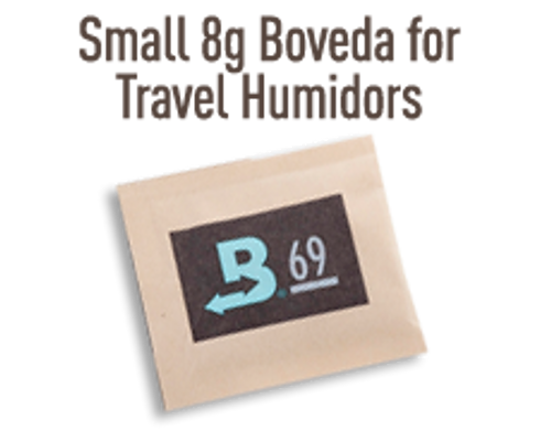 8 gram 72% for Travel Humidors