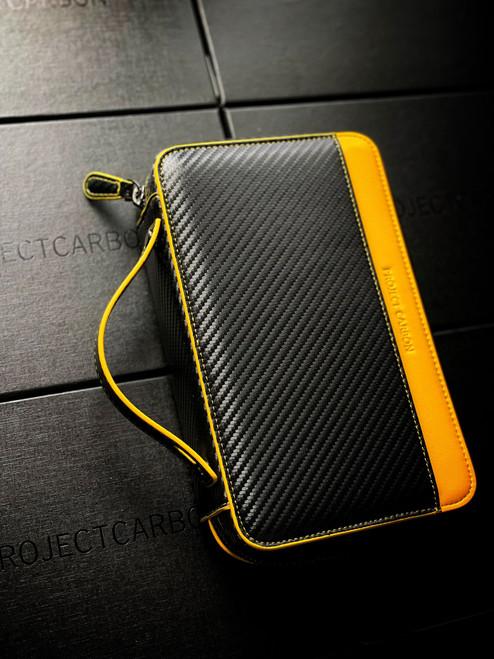 Project Carbon - Carbon Fiber Yellow