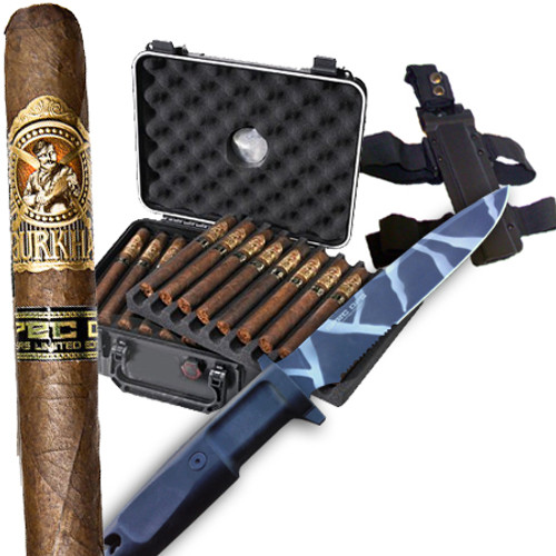 Box + Cigars + Knife + Holdster