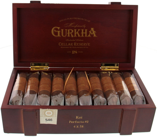 Gurkha Cellar Reserve 18 Year old - KOI Perfecto