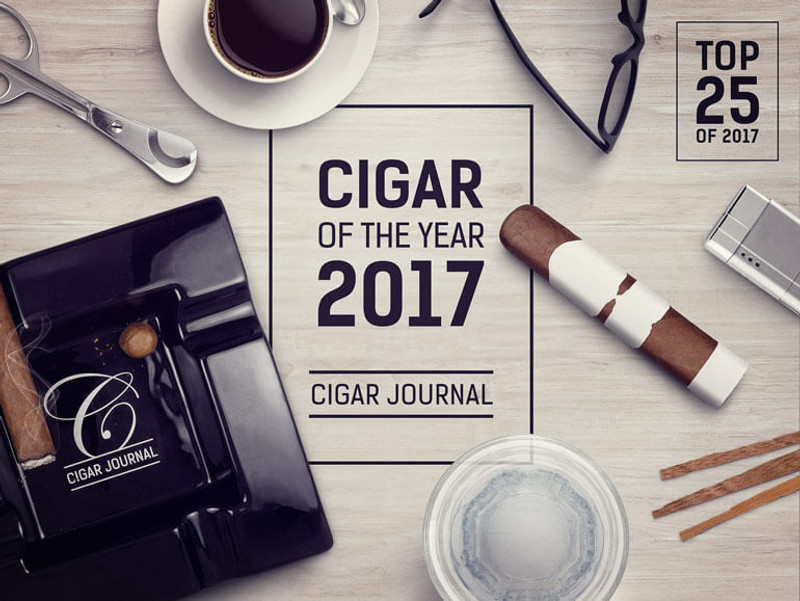 Top 25 Cigars of 2017 by Cigar Journal