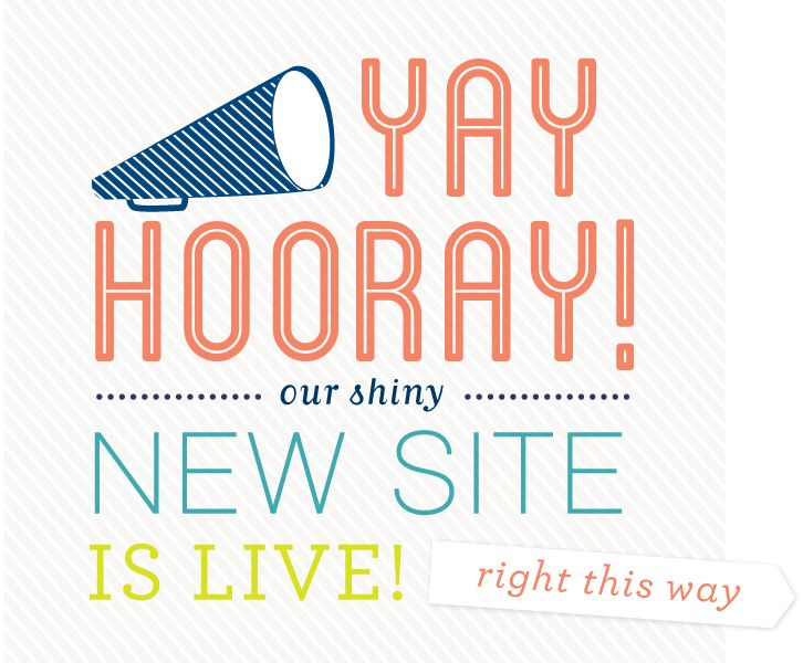 New Website and more!