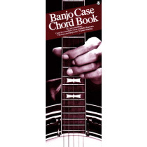 5 String Banjo Case Chord Book