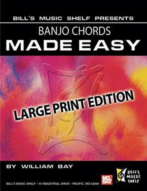 Banjo Chords Made Easy, Large Print Edition
