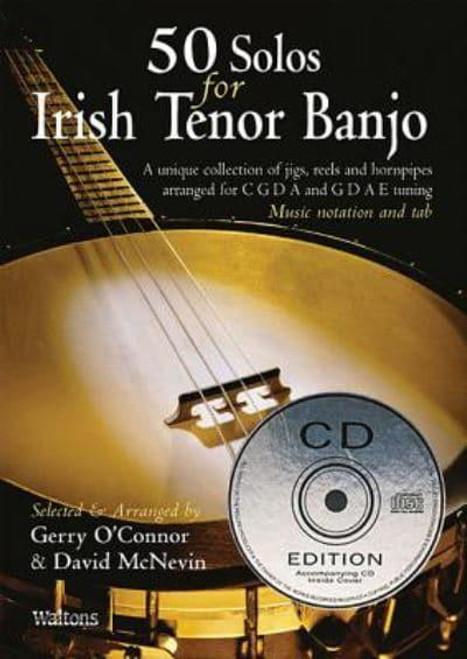 50 Solos for Irish Tenor Banjo CD Edition