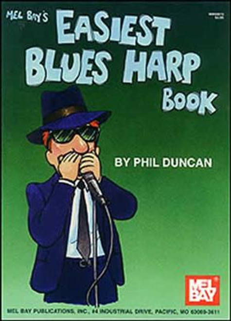 Easiest Blues Harmonica Book