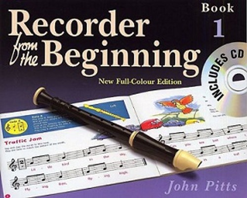 Recorder From The Beginning Pupils Book 1  CD Edition