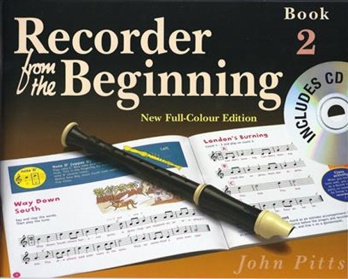 Recorder From The Beginning Pupils Book 2  CD Edition