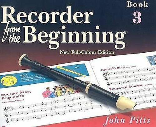 Recorder From The Beginning Pupils Book 3