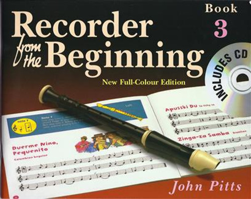 Recorder From The Beginning Pupils Book 3 CD Edition