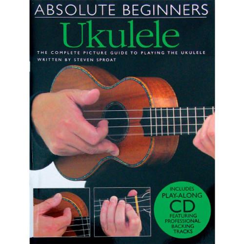 Absolute Beginners Ukulele Bk 1 CD Edition