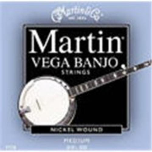 Martin V730 Vega 5 String Banjo Set - Medium Gauge.
