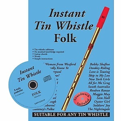Instant Tin Whistle Folk CD Edition