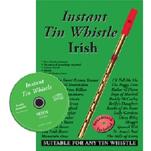 Instant Tin Whistle Irish CD Edition