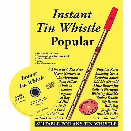 Instant Tin Whistle Popular CD edition