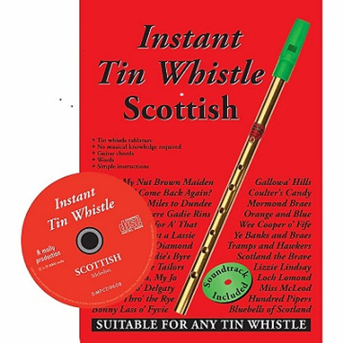 Instant Tin Whistle Scottish CD edition