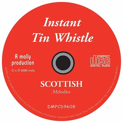 Instant Tin Whistle Scottish CD