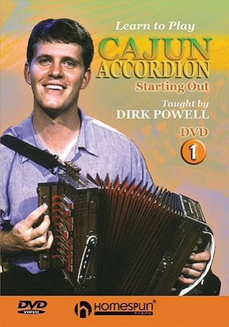 Learn To Play Cajun Accordion 1: Starting Out (DVD