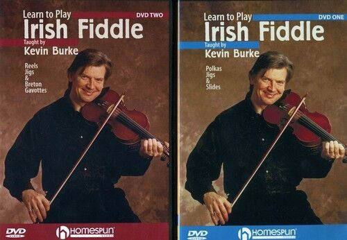 Learn to Play Irish Fiddle  Polkas  &  Slides 2 DVD Set