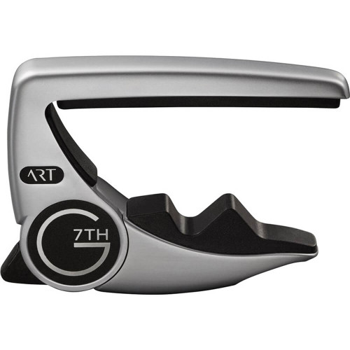 G7TH Performance 3 Acoustic Capo - Silver