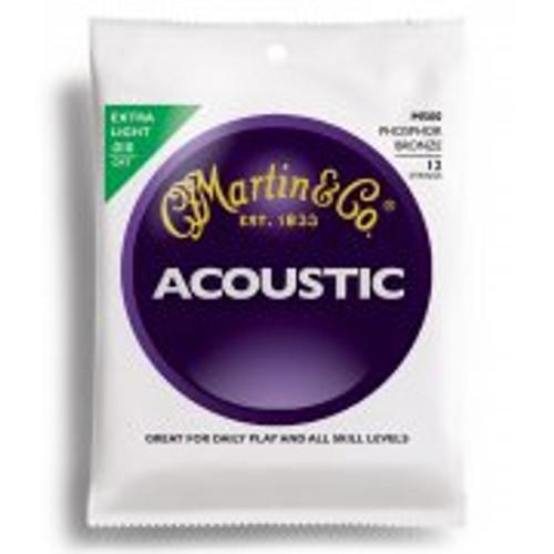 Martin M500 Extra Light 12 String Guitar Strings (Phosphor Bronze)