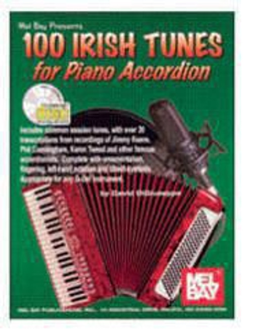 100 Irish Tunes for Piano Accordion, David DiGiuseppe, CD Edition