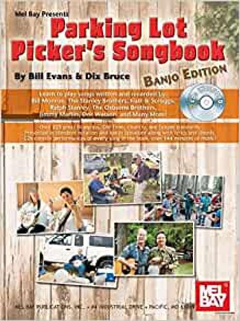 Parking Lot Picker's Songbook - Banjo CD Edition