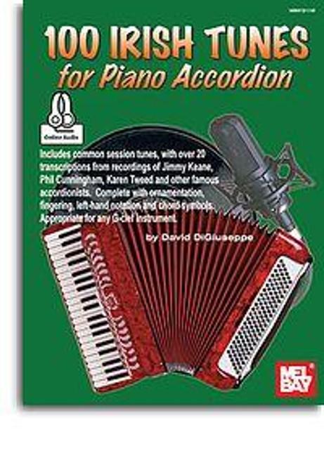 100 Irish Tunes for Piano Accordion