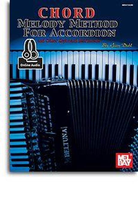 CHORD MELODY METHOD FOR ACCORDION BOOK