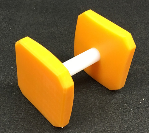 Plastic Dumbbell (Gold)