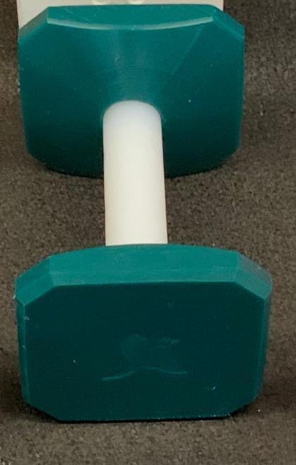 Plastic Dumbbell (Teal)