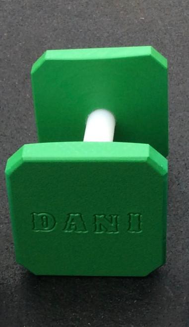 Plastic Dumbbell (Lime Green)