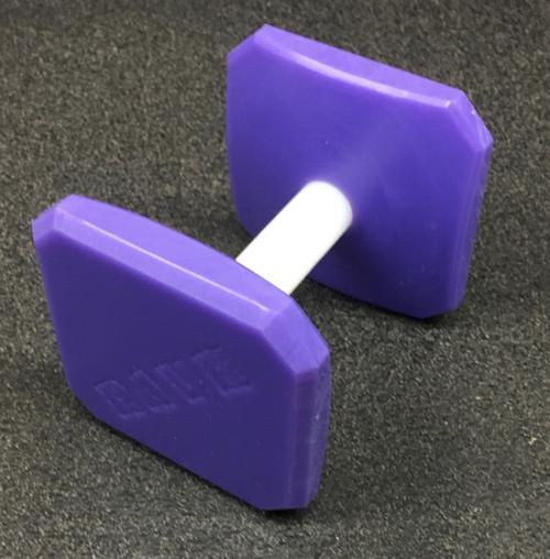 Plastic Dumbbell (Purple)