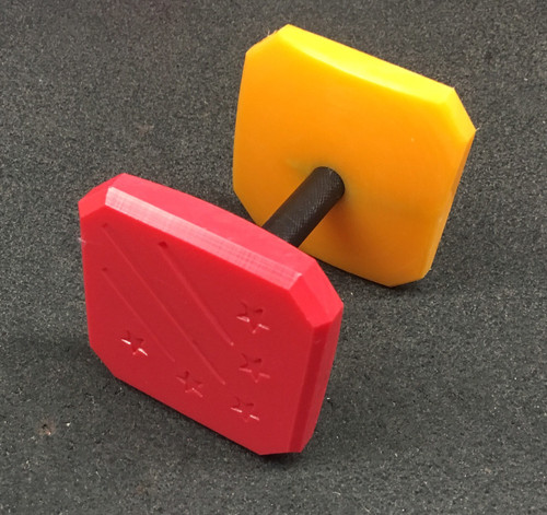 Plastic Dumbbell (Different Color Ends)