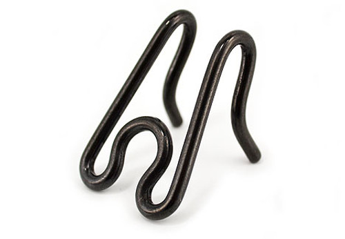 Stainless Steel Extra Link (Black or silver) 2.25mm