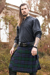 Versatta Black Watch Tartan Kilt