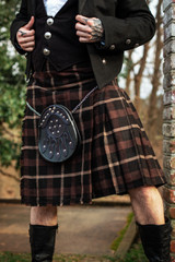 Versatta Series Traditional Tartan Kilt in Brandybuck