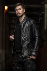 Maximus Leather Jacket
