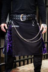 Versatta Gothic Velvet Hybrid Kilt