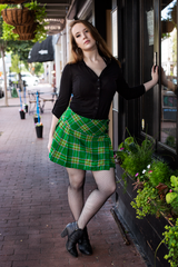 Women's Mini Tartan Skirt
