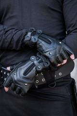 Ridgeback Leather Gloves