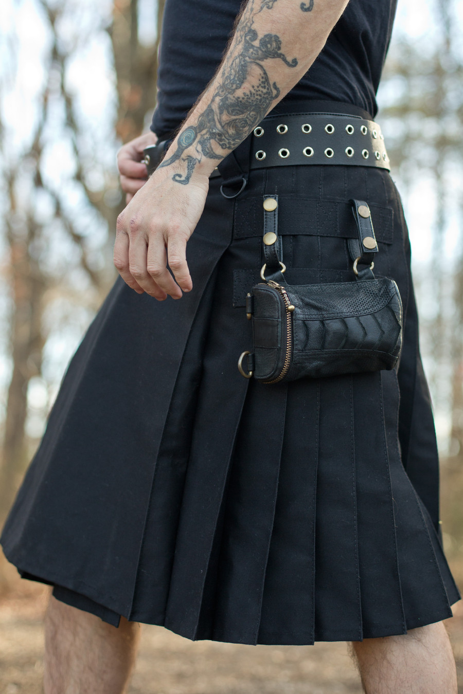 Black w/ Versatta Wallet Pocket
