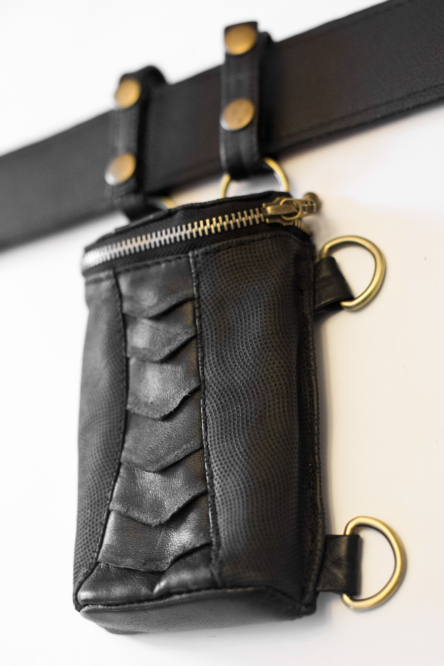 Can also be attached to belts