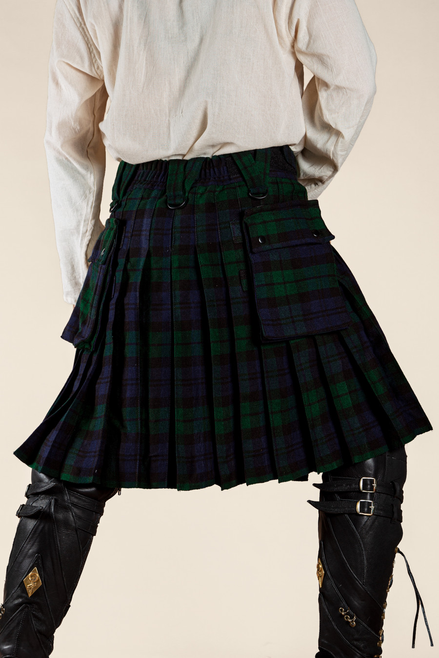 Versatta Blackwatch Tartan Kilt